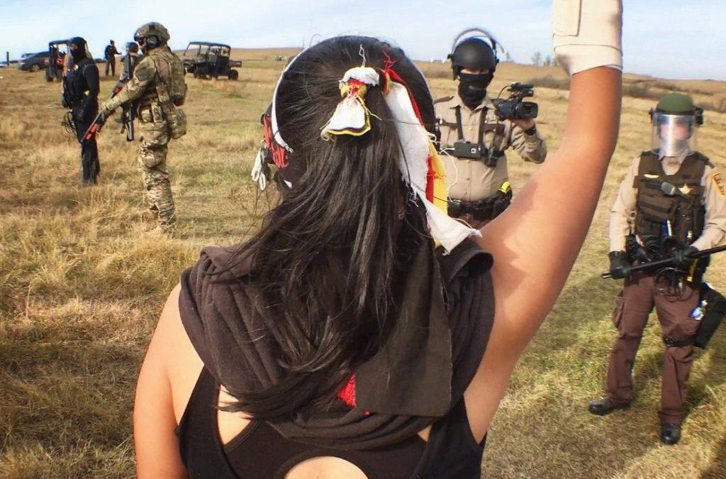 "PBS: ""For Native 'water protectors,' Standing Rock protest has become fight for religious freedom, human rights"""